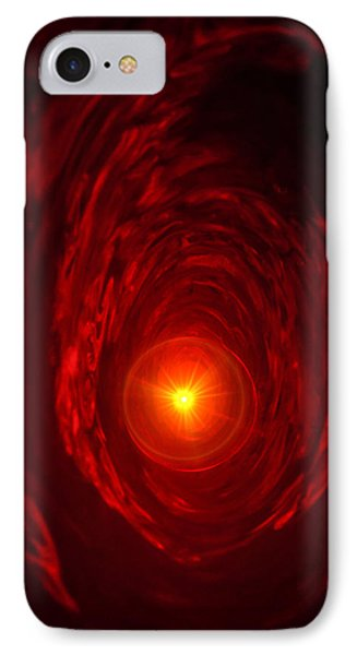 Time Vortex IPhone Case by Jeff Folger