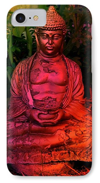 Timeless Buddha IPhone Case by Carlos Avila