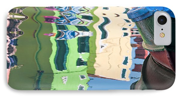 Timeless Colors Of Burano IPhone Case by Joan Herwig