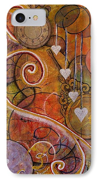 Timeless Love IPhone Case by Jane Chesnut