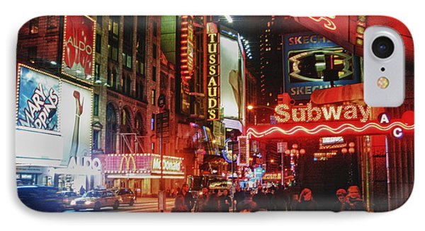 Times Square  Phone Case by Anthony  Myers