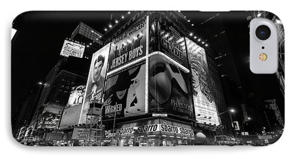 Times Square Black And White II IPhone Case