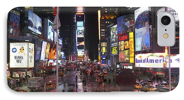 Times Square IPhone Case by Mike McGlothlen