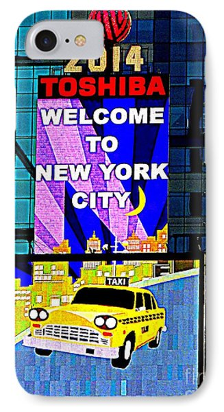 Times Square New Years Eve Ball Phone Case by Ed Weidman