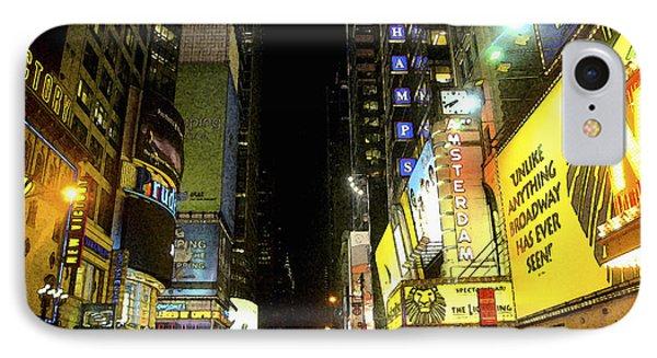 Times Square Photofresco Phone Case by Joseph Hedaya