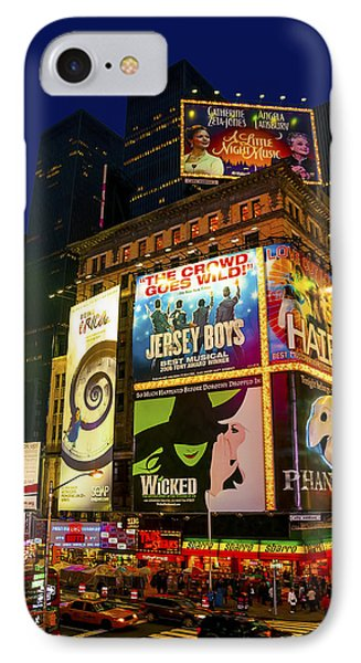 Times Square Phone Case by Svetlana Sewell