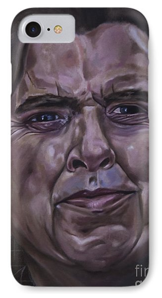 Timothy Spall IPhone Case by James Lavott