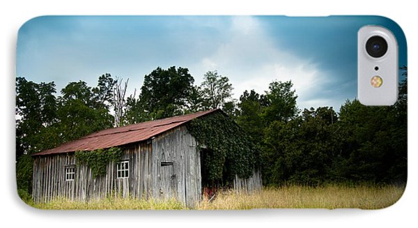 Tin Roof...ivy Covered Barn IPhone Case