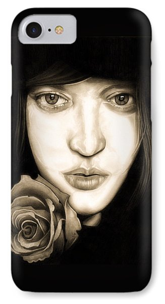 Tina Ayres IPhone Case by Fred Larucci
