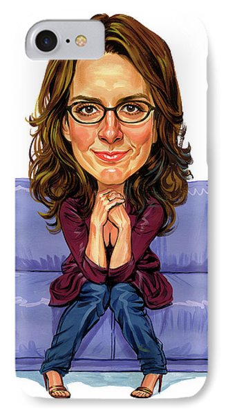 Tina Fey Phone Case by Art