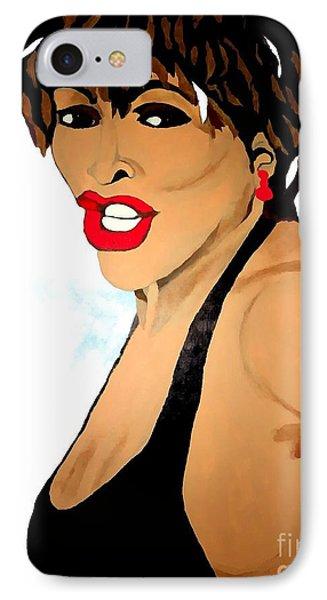 Tina Turner Fierce 3 IPhone Case