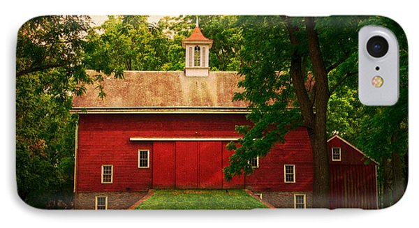 Tinicum Barn In Summer IPhone Case by Debra Fedchin