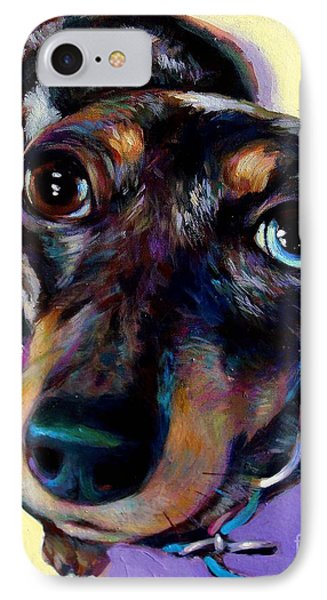 IPhone Case featuring the painting Tink  by Robert Phelps
