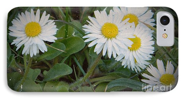 Tiny Daisies Phone Case by Chalet Roome-Rigdon
