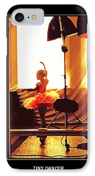Tiny Dancer IPhone Case by Carrie OBrien Sibley