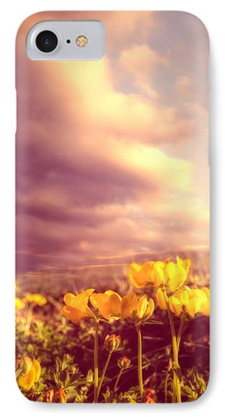 Tiny Flowers Phone Case by Bob Orsillo
