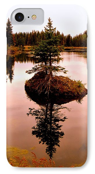 IPhone 7 Case featuring the photograph Tiny Island by Karen Shackles