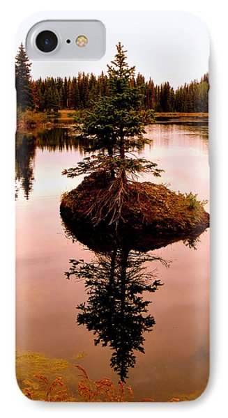 IPhone Case featuring the photograph Tiny Island by Karen Shackles