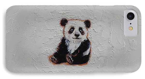 Tiny Panda IPhone Case