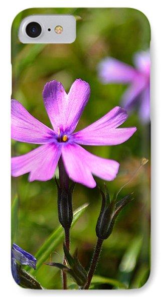 Tiny Purple Flower #1 IPhone Case