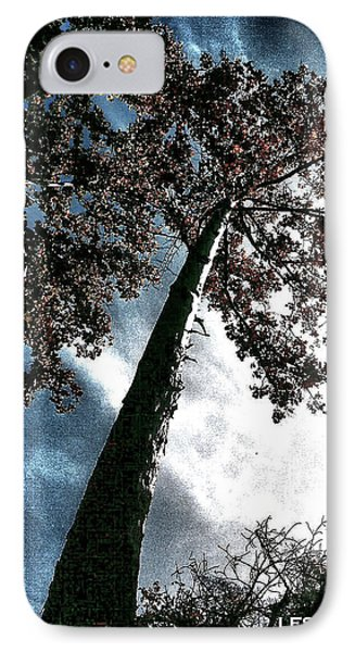 IPhone Case featuring the photograph Tippy Top Tree II Art by Lesa Fine