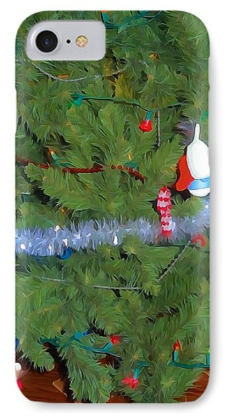 Tis The Season Watercolor IPhone Case by Dan Sproul