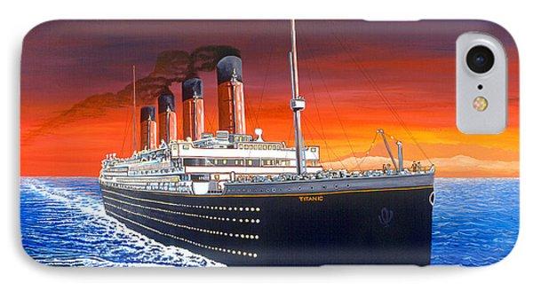 Titanic Phone Case by David Linton