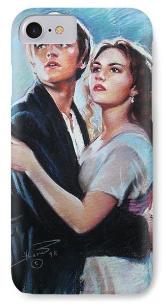 Titanic Jack And Rose IPhone Case by Viola El