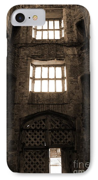 Titchfield Abbey Gatehouse In Sepia Phone Case by Terri Waters