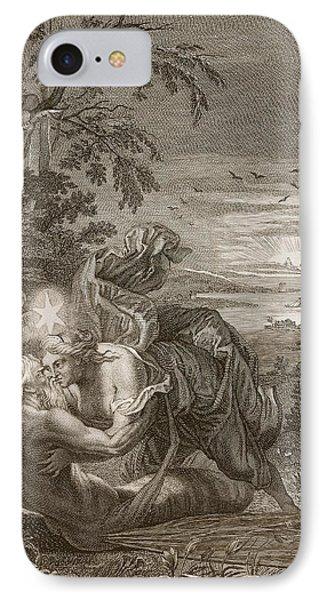 Tithonus, Auroras Husband, Turned Into A Grasshopper IPhone 7 Case