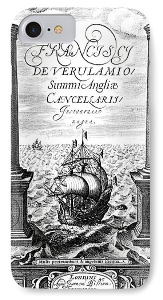 Title Page Of Instauratio Magna IPhone Case