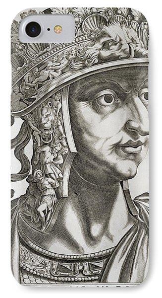 Titus Caesar , 1596 IPhone Case by Italian School