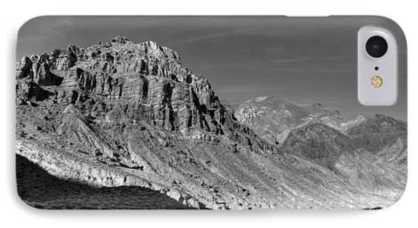 Titus Canyon Peak Phone Case by Peter Tellone