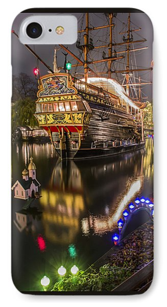 Tivoli By Night IPhone Case by Carol Japp