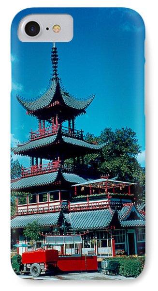 Tivoli Pagoda 1953 Phone Case by Cumberland Warden
