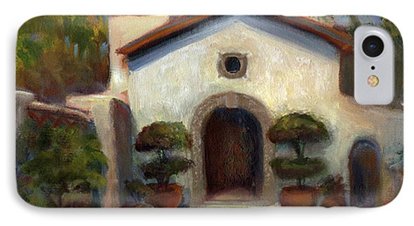 Tlaquepaque Chapel In Sedona Phone Case by Judy Downs