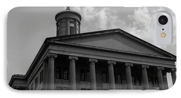IPhone Case featuring the photograph Tn State Capitol by Robert Hebert