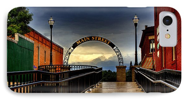To Main Street Waupaca IPhone Case
