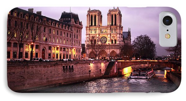 To Notre Dame Phone Case by John Rizzuto