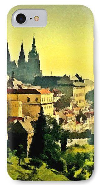 To Prague With Love... IPhone Case