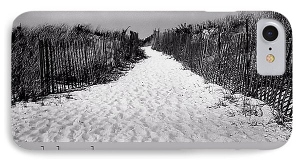To The Beach Quote Phone Case by JAMART Photography