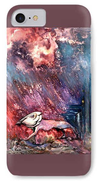 IPhone Case featuring the painting To The Freedom by Mikhail Savchenko