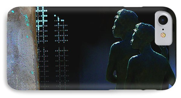 IPhone Case featuring the photograph To The Light by Lin Haring