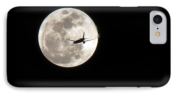 IPhone Case featuring the photograph To The Moon by J Anthony
