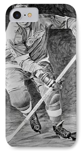 To You Is Mr. Hockey  IPhone Case by Peter Jurik