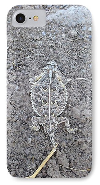 Toad IPhone Case by Erika Chamberlin