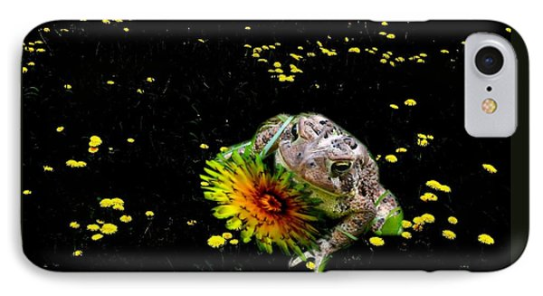 Toad In A Lions Den IPhone Case