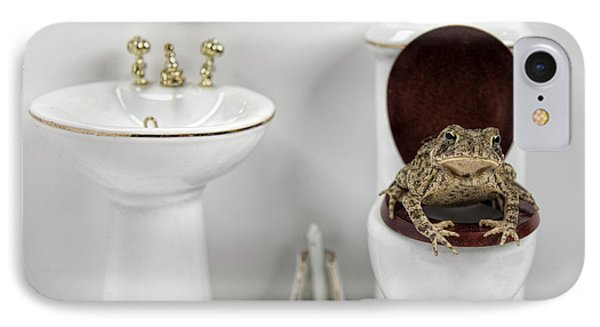 Toad Stool IPhone Case by John Crothers