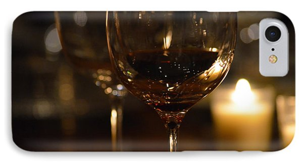 Toast For Wine Lovers 1 IPhone Case by Deprise Brescia