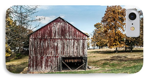 IPhone Case featuring the photograph Tobacco Barn Ready For Smoking by Debbie Green